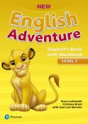 New English Adventure Student''''''''s Book Pack Level 2