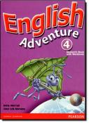 English Adventure Level 4 Student Book with CD-Rom