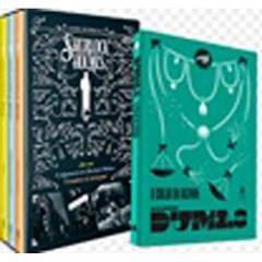 Kit Box - Outras Hist.sherlock Holmes +colar Rainh