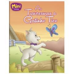 Mini - Animais:Travessuras Do Gatinho Tico