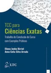 TCC CIENCIAS EXATAS - TRABALHO DE CONCLUSAO DE CURSO COM EXEMPLOS PRATICOS