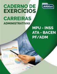 Caderno de exercícios - Carreiras administrativas