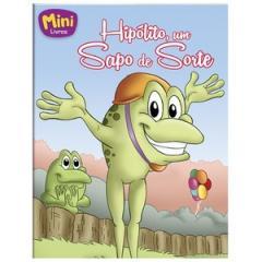 Mini - Animais: Hipolito, Um Sapo de Sorte